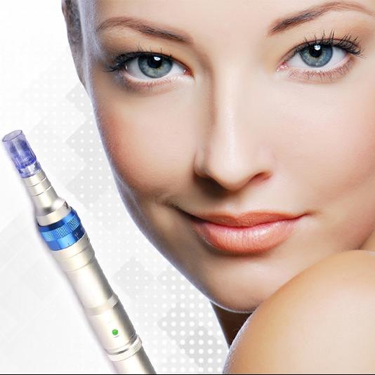 Microneedling derma pen