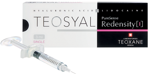 Teosyal Redensity 1 used for the Beauty Booster